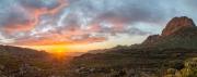Sonnenuntergang in den Rocklands